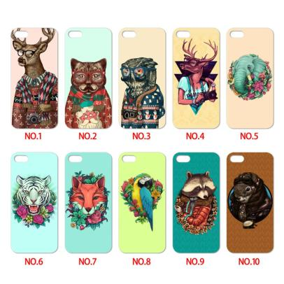 new-promotion-painted-pug-with-glasses-elephant-animal-printed-colorful-mobile-phone-cover-case-for-iphone
